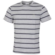 Lacoste Mens TH5141 Ribbed Collar Cotton Embroidered Crocodile T-Shirt