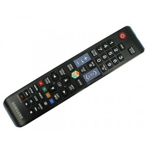Samsung TM1250 RF Wireless Press buttons Black remote control