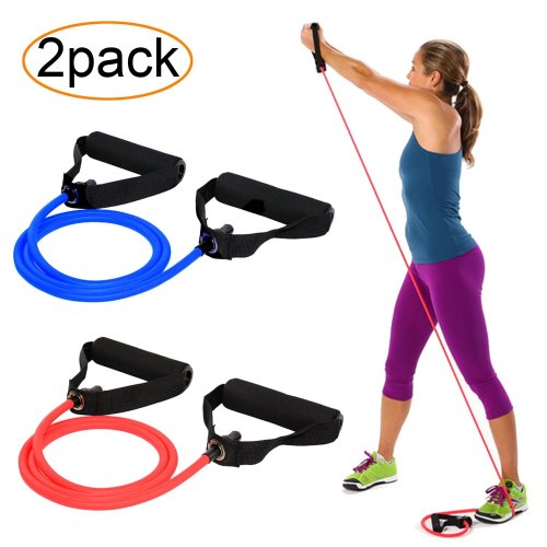 1.5M or 2M Atemi FitKit Resistance Band Strength Training Stretch Pilates