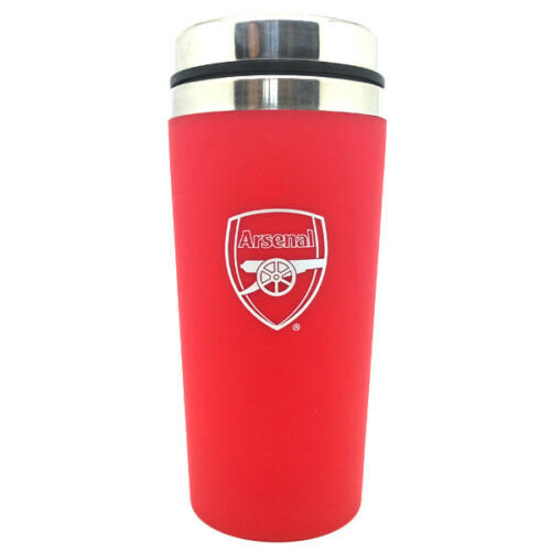 Arsenal F.C. Aluminium & Plastic Handless Travel Mug