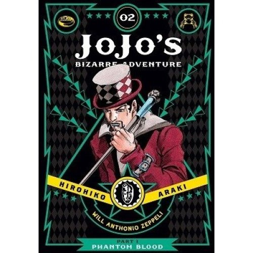 Jojo's Bizarre Adventure: Part 1- Phantom Blood, Vol. 2: Phantom Blood Part 1