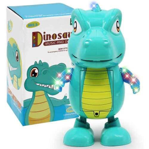 Cute Dinosaur dance music toy