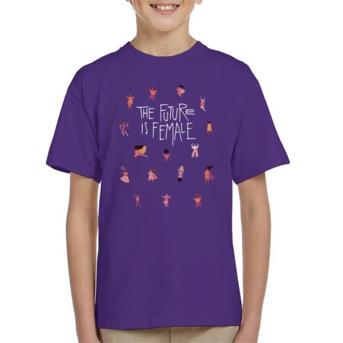 Girl Power The Future Is Female Kid's T-Shirt