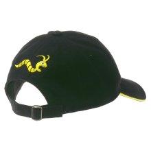 Woodworm Cricket/Golf Club Cap, One Size, Navy/Gold