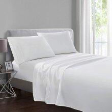 Egyptian Cotton Flat Sheet TC 250 Bed Sheet UK Size