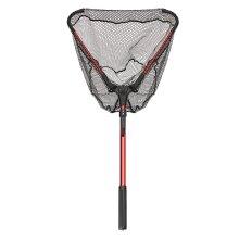 Aluminum Alloy 80cm Single Triangular Ultra-Light Folding Handle Fishing Landing Net