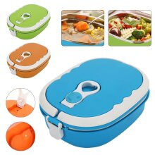 Food Warmer Box Kids School Lunch Box Portable Thermal Insulated Food Container