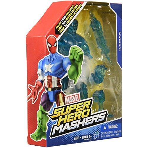 Marvel Super Hero Mashers Iceman Figure, 6-Inch