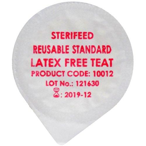 Sterifeed Latex Free 'Reuseable' Sterile Baby Teat, Standard, Pack of 10