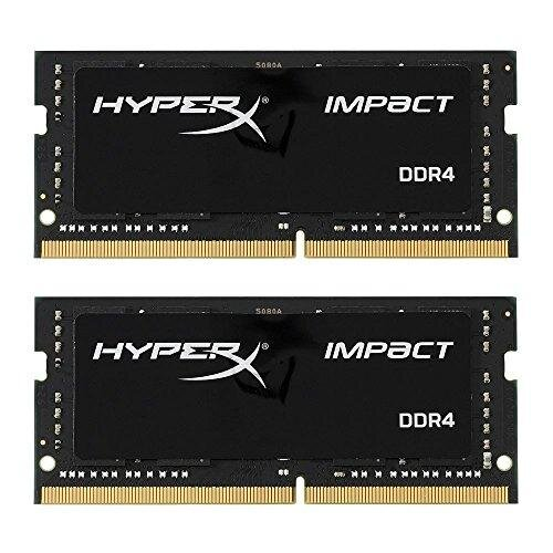 HyperX Impact DDR4 HX426S15IB2K2/16 Memory 2666 MHz CL15 SODIMM 16 GB Kit (2x8 GB)