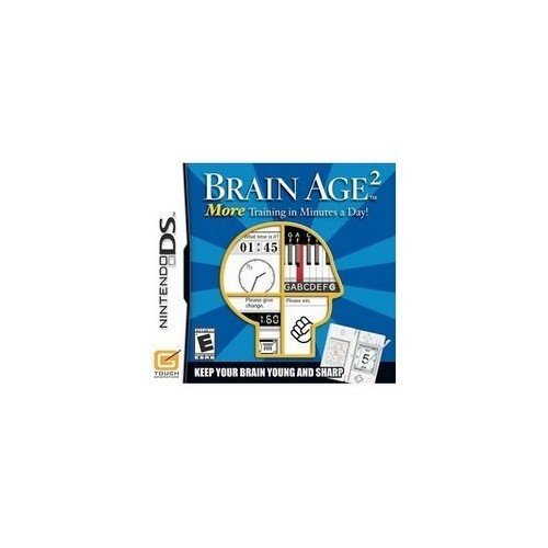 Nintendo Ds - More Brain Training with Dr. Kawashima. How Old is Your Brain