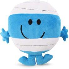 Mr Men Little Miss 1205 Mr Bump Heatable Plush Toy, Blue