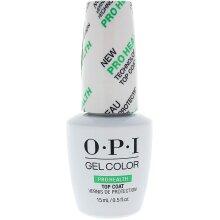 OPI Gel Color PRO HEALTH Top Coat- 15ml Gel Color Too