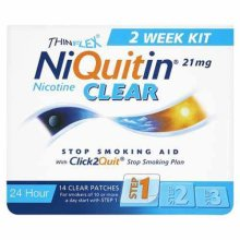 NiQuitin CQ Clear Patches (Step 1) 21mg x 14