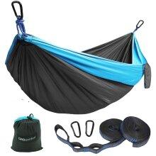Lightweight Outdoor Portable Camping Hammock Bag Set Backpacking Hiking Sleeping