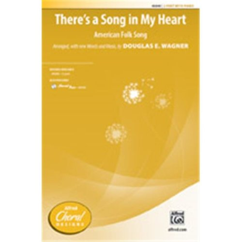 Alfred 00-40041 THERES A SONG IN MY HEART-STRX CD