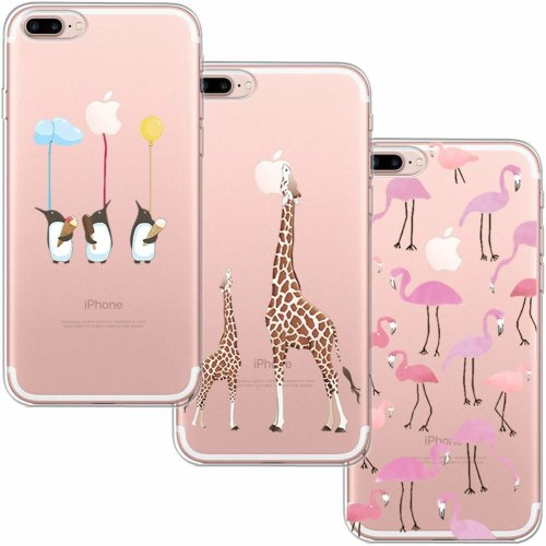 Cover Slim per Apple iPhone 7 Plus iPhone 8 Plus in silicone TPU