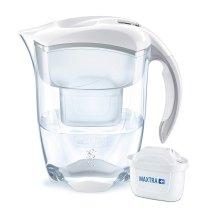 BRITA Elemaris XL 3.5L White Water Filter Jug & Maxtra+ Cartridge