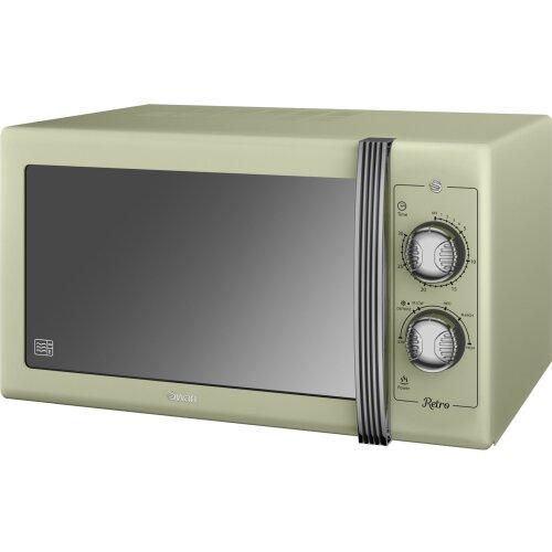 Swan Retro SM22070GN 25 Litre Microwave - Green