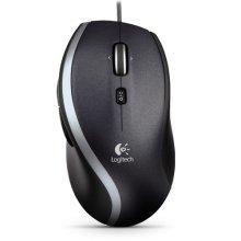 Logitech M500 USB Laser 1000DPI Right-hand Black mice - Refurbished