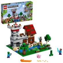 LEGO Minecraft The Crafting Box 3.0 Fortress Farm Set 21161 Age 5+ 564pcs