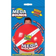 Wicked Mega Bounce Ball (Large, Red/Blue)