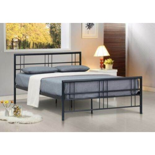 Luna Metal Bed Frame with Lucy Mattress