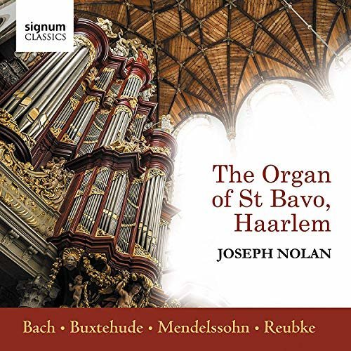 J.S. / Nolan Bach - Joseph Nolan: The Organ Of St Bavo, Haarlem [CD]