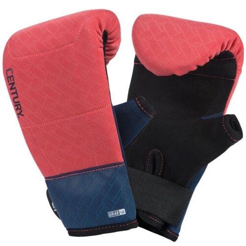 Brave Ladies Neoprene Bag Gloves - Coral/Navy - Boxing, MMA, Fitness
