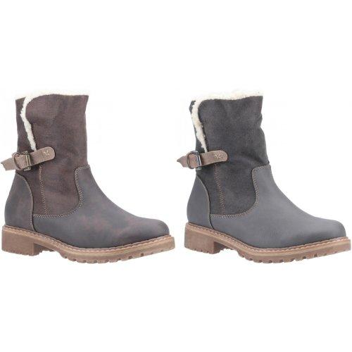 Divaz Womens/Ladies Melanie Buckle Mid Boot