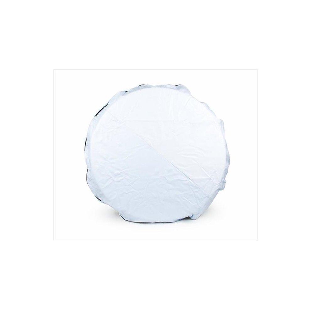 24-Inch Diameter Camco 45348 RV Vinyl Spare Tire Cover Arctic White