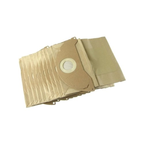 Pack of 10 Fits Karcher WD2.200 Vacuum Cleaner Dust Paper Bags