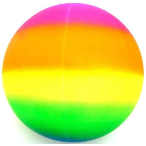 "The Magic Toy Shop 18"" Giant Neon Rainbow Beach Ball"
