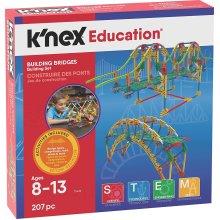 Knex 207 Piece Building Bridges Set