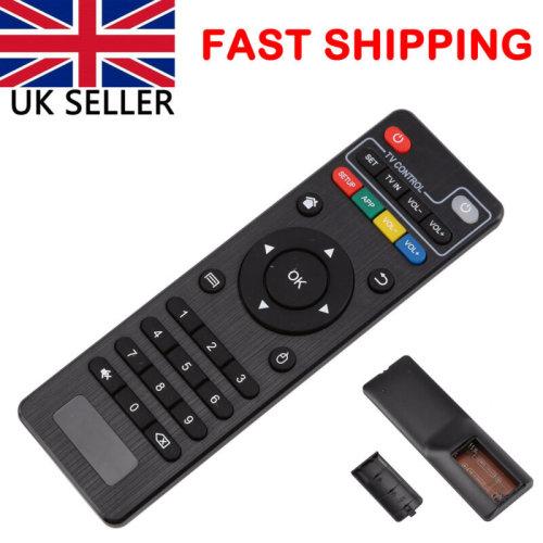 Quad Core Smart TV BOX Remote Control For MXQ M8 UK NEW BOX