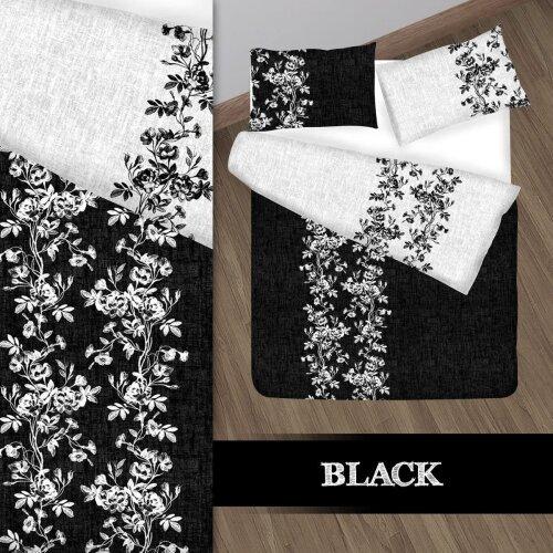 NightComfort Floral Cotton Reversible Duvet Cover