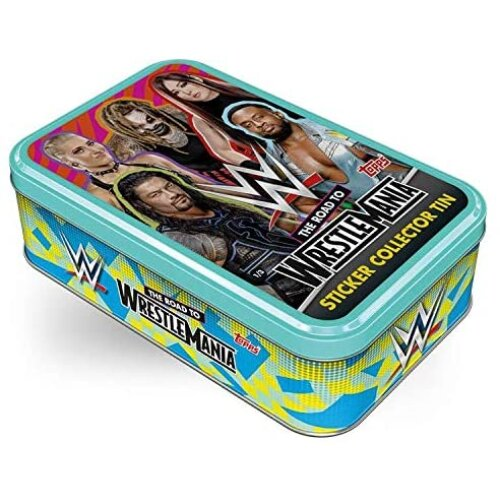 WWE The Road To Wrestle Mania Sticker Tins