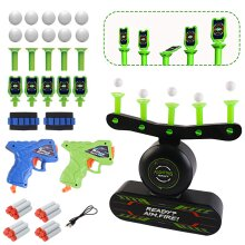 deAO Glow in the Dark Luminous Electric Floating Target Practice Hover Ball Shooting Game for Kids