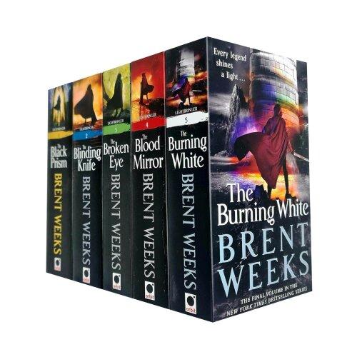 Brent Weeks 5 Books Collection Set Lightbringer Series