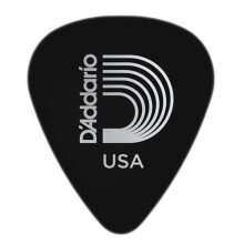 D'Addario Planet Waves Classic Celluloid Guitar Picks Black Light 0.50mm 10 Pack 1CBK2-10