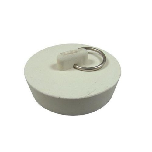 35981B 1.87 in. Sink Stopper  White - pack of 5