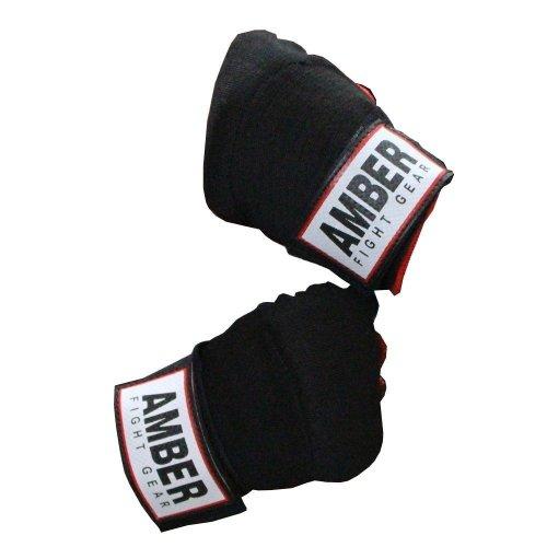 "Amber MMA Boxing 180/"" Elastic Hand Wraps Inner Gloves Bandages Muay Thai Protect"