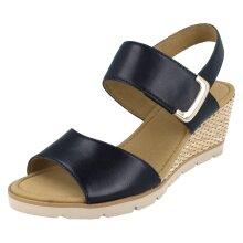 Ladies Gabor Slingback Platform Wedge Sandals 45795