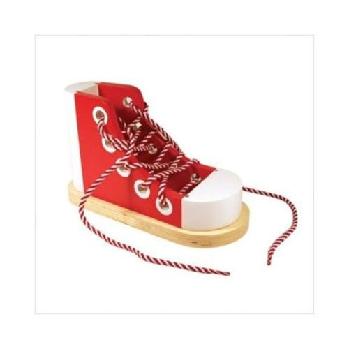 "Mellisa n Doug 3018 8""W x 3.75""D x 5""H Lacing Sneaker"