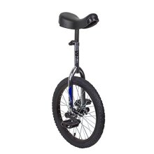 Sun 18 Inch classic chrome/Black Unicycle by SUN BIcYcLES