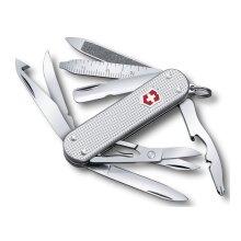 Victorinox Mini Champ Swiss Army Knife - Silver Alox handles - Special Edition