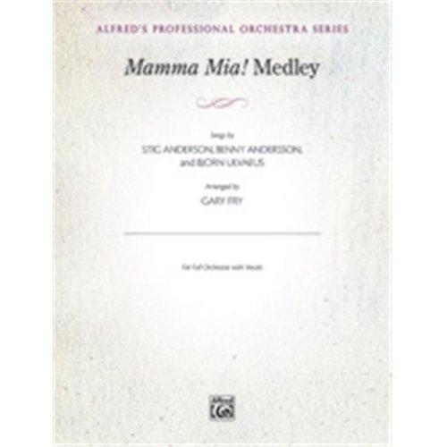 Alfred 00-38461S S MAMMA MIA MEDLEY-POS