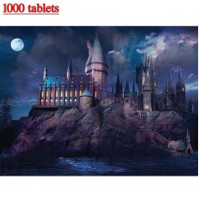 1000 PCS Family Jigsaw Puzzle Educational Games Adults kids Puzzle Gifts Harry Poter Hogwarts
