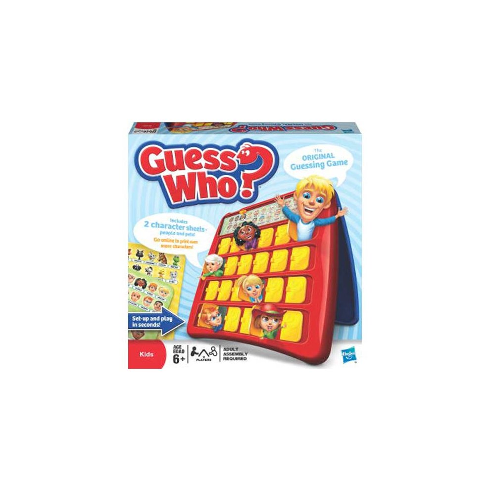 Hasbro Kids Games - Guess Who ?