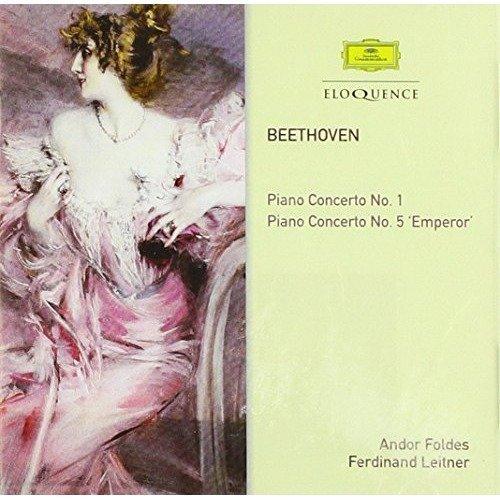 Andor Foldes; Ferdinand Leitner - Beethoven: Piano Concertos Nos. 1 and 5 [CD]